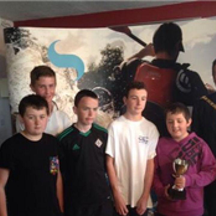 Carrickfergus Junior Boys Rowing Success