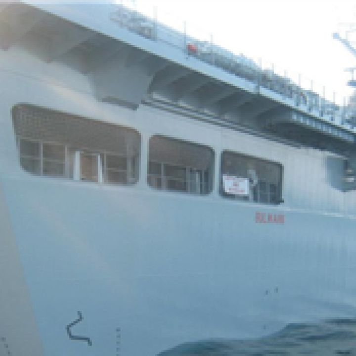 HMS Bulwark Olympics Visit