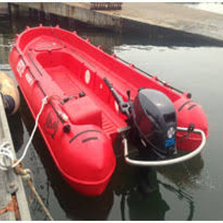New Safety Boat for the Unit!!