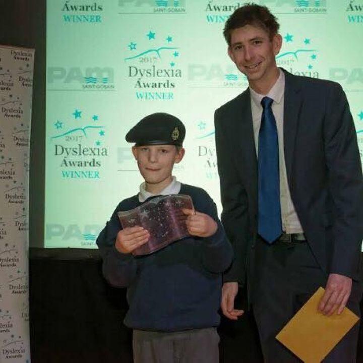 Award for Junior Cadet Sam