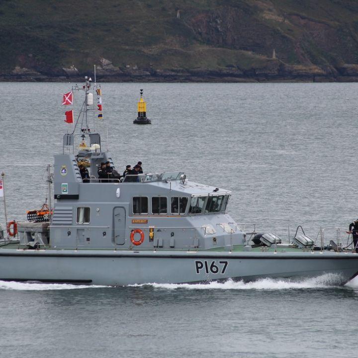 HMS Exploit Visit