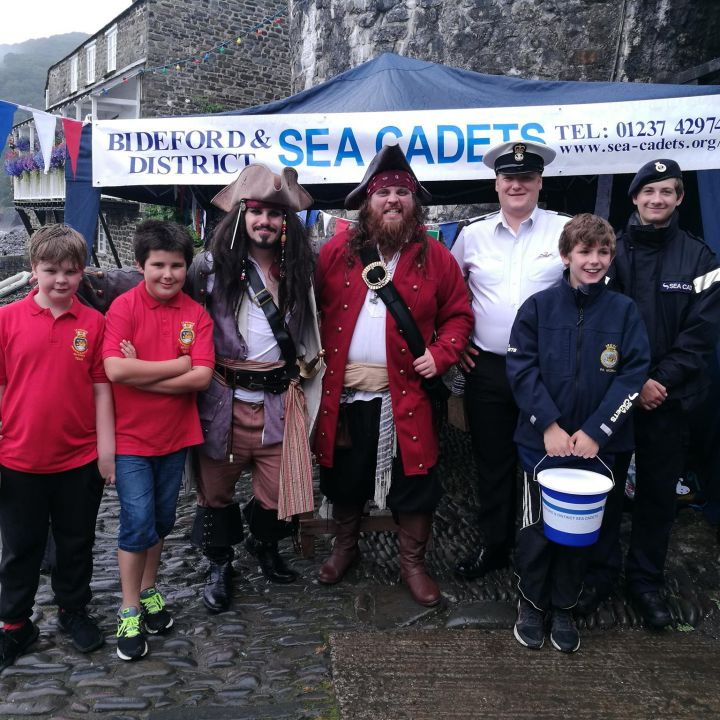 Clovelly Maritime Festival 16 July 2017