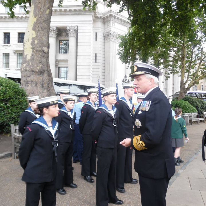 Merchant Navy Parade, London 1-3 September 2017