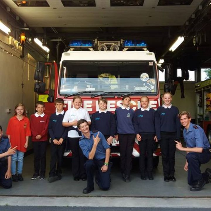 Bideford Fire Station Visit 13 July 2017