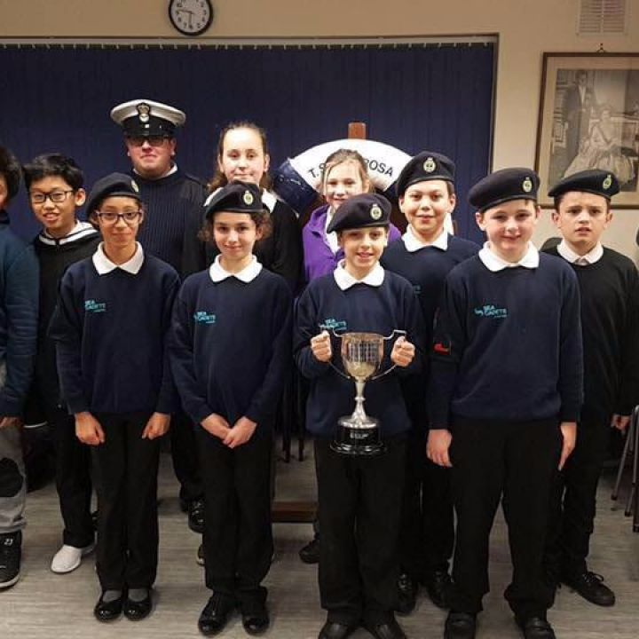 London Area Junior Sea Cadets of the Year