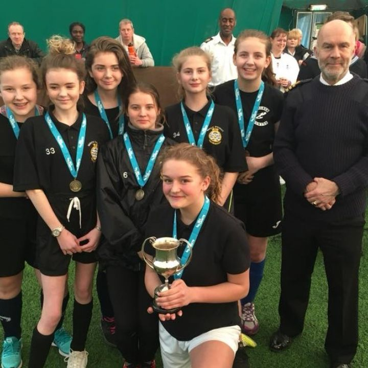 Junior Girls Football - Bringing home the Gold!