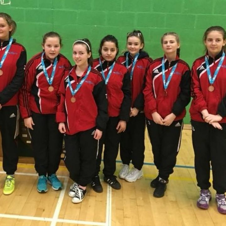 National Bronze for 'Shertelfing' Junior Girls!