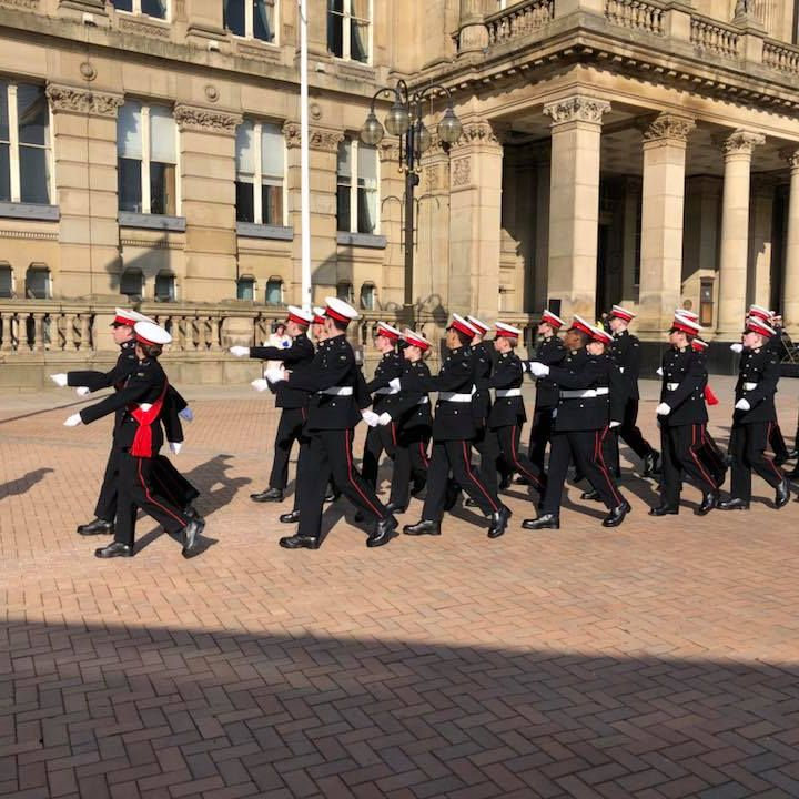 Royal Marines receive Freedom of the City