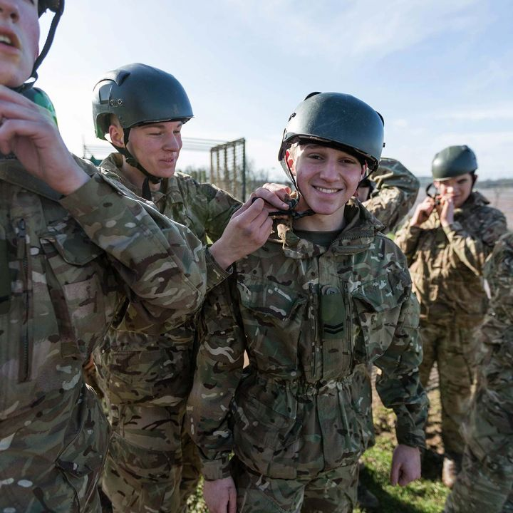 Marine Cadets come to Dumfries