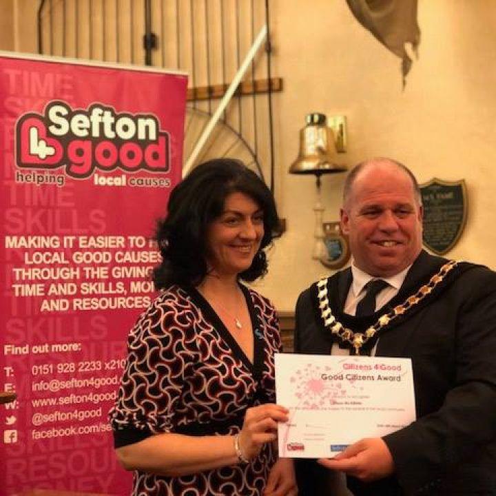Sefton 4 Good Citizen Award for our Fundraiser