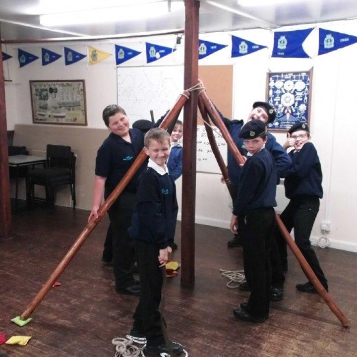 Junior sea cadets leadership