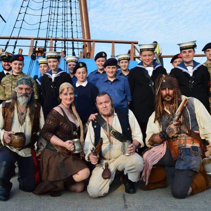 HM Bark Endeavour arrives in Whitby
