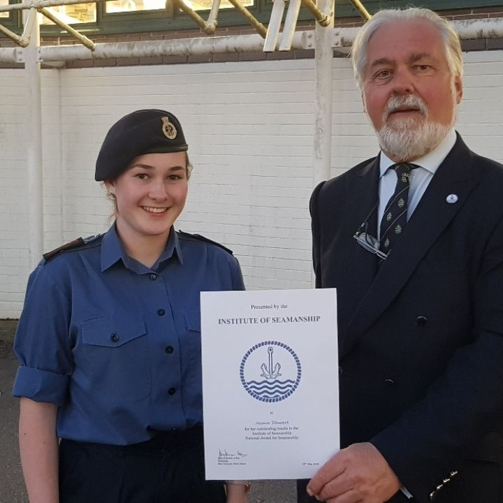 Institute of Seamanship Award