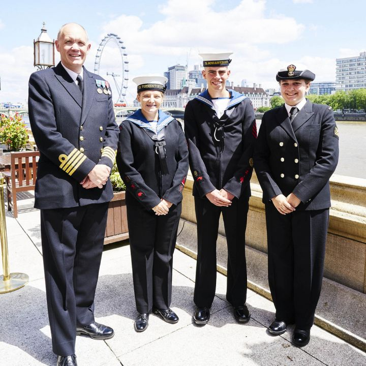Sea Cadets attend ceremony at House of Lords