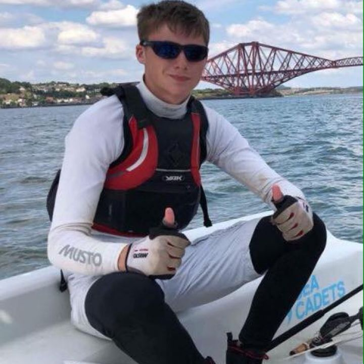 SCC's Latest Dinghy Instructor