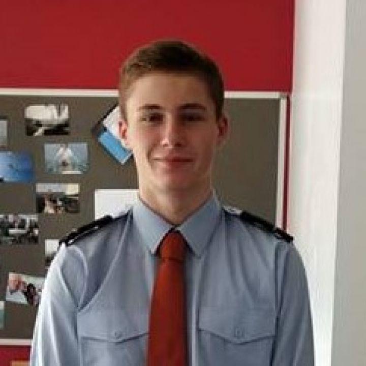 AC Joe accepted at prestigious military college