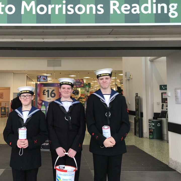 Cadets collect at Morrisons