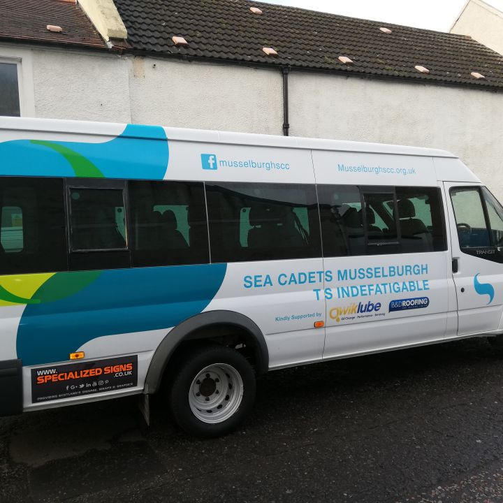 Minibus ready to roll!
