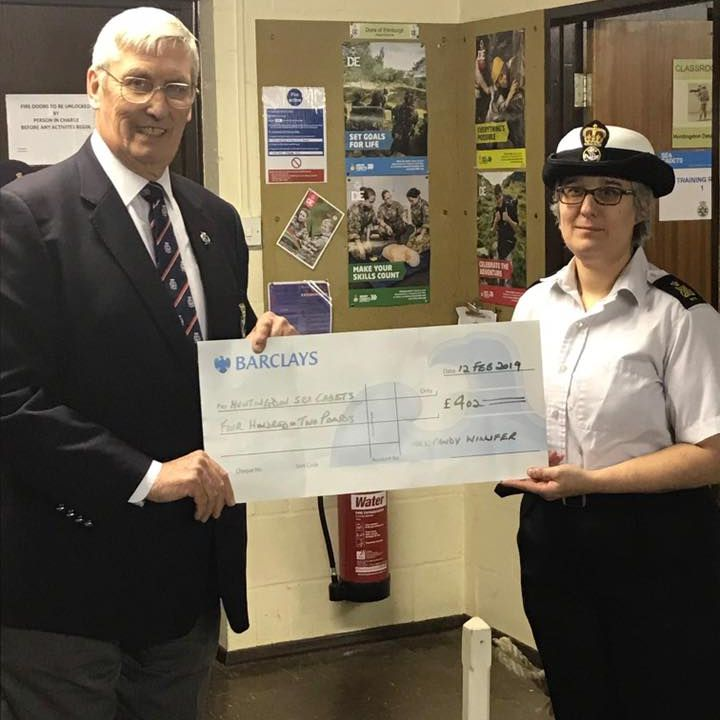 Donation by RNA St Neots