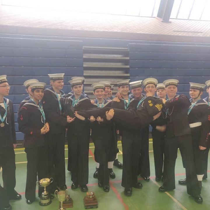 District Drill and Piping Competition 2019