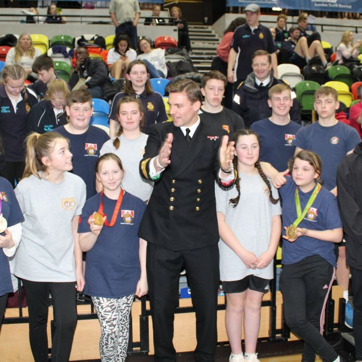 Cadets take part in rowing competition