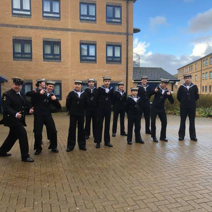 Cadets win Devon drill comp