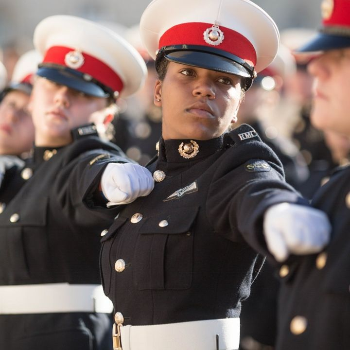 Marines Cadet Laurelle talks courage