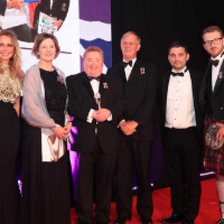 Sea Cadets Helps Charity Win Presigious Award