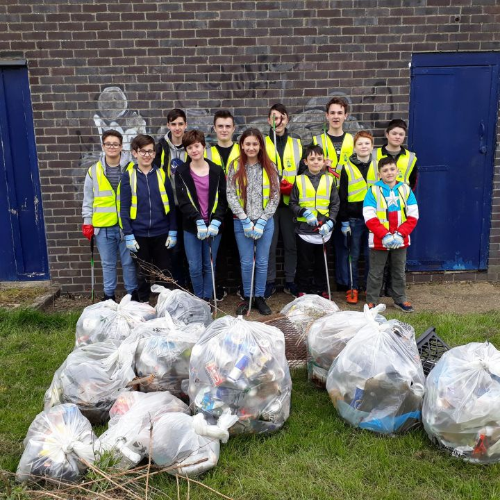 Harlow Sea Cadets team up to clean up