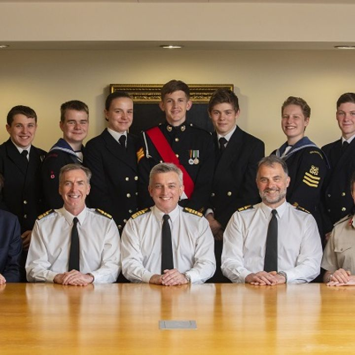 The Navy Board meets our cadets