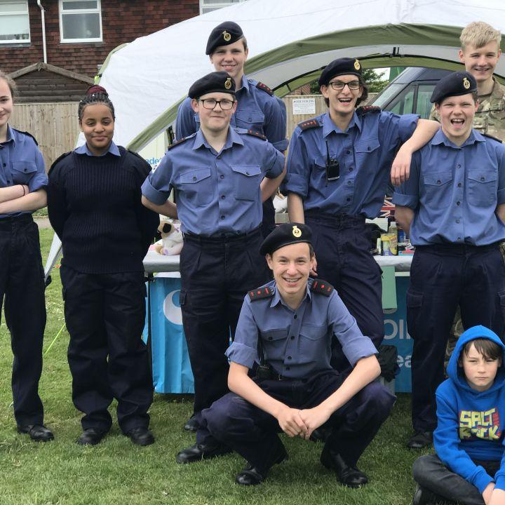 Reading Sea Cadets at Bradfield May Fayre