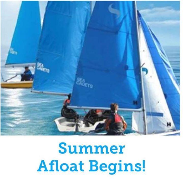 Summer afloat begins