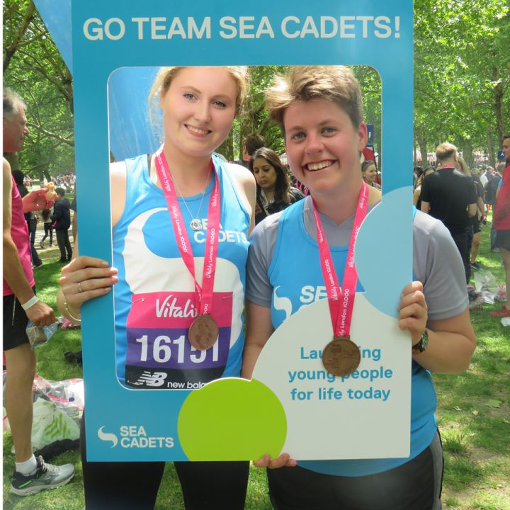 Sea Cadets takes part in Vitality 10k