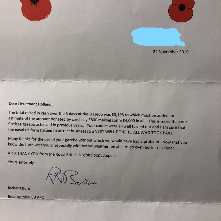 poppy appeal letter