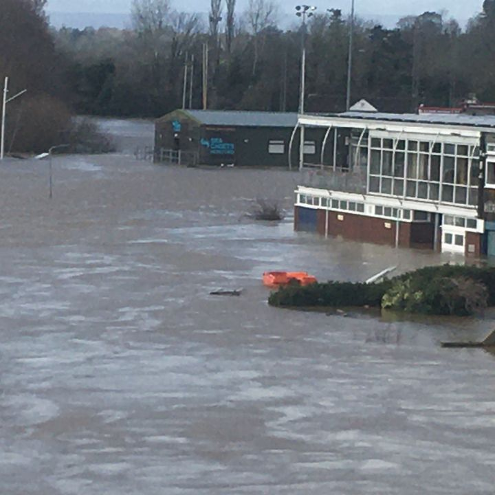 Storm Denis: Hereford Sea Cadets