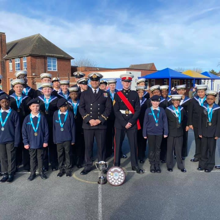 Success at District Drill & Piping Competition