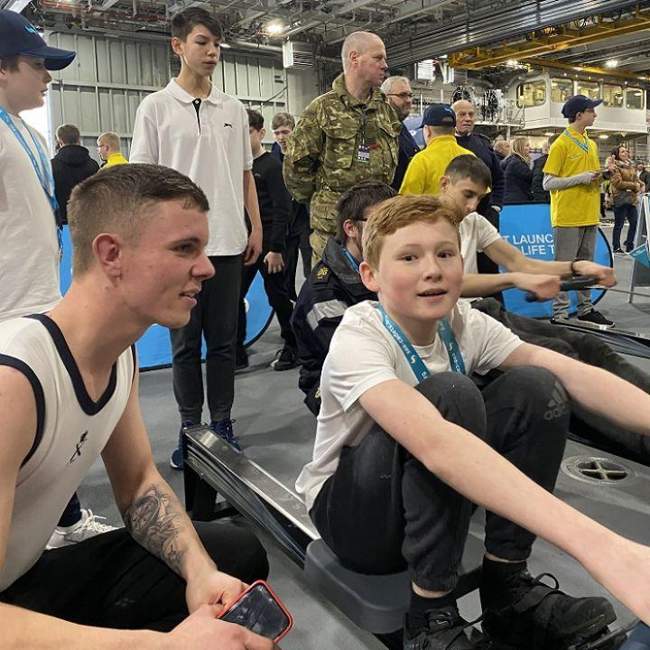 Sea Cadets Row 3000 fundraising challenge rowathon