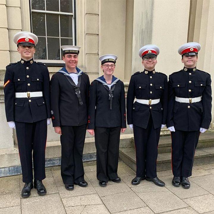 Trafalgar Day celebrations