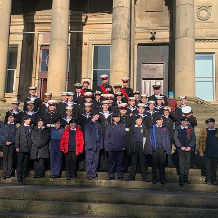 Remembrance Service in Liverpool