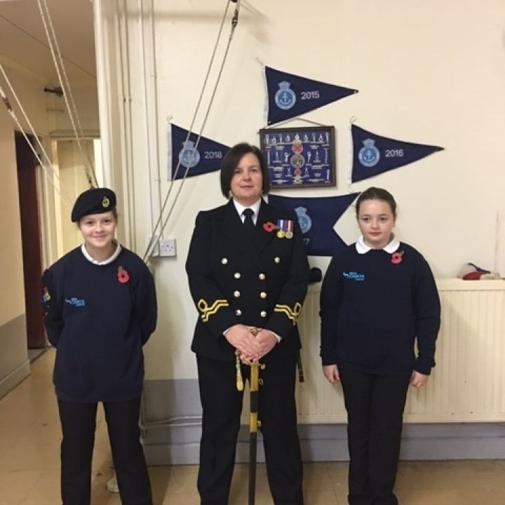 sea cadets volunteers week 2020
