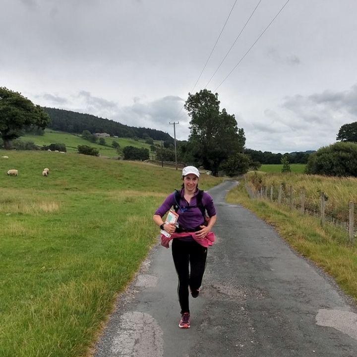 Lorraine's 60 mile fundraising journey