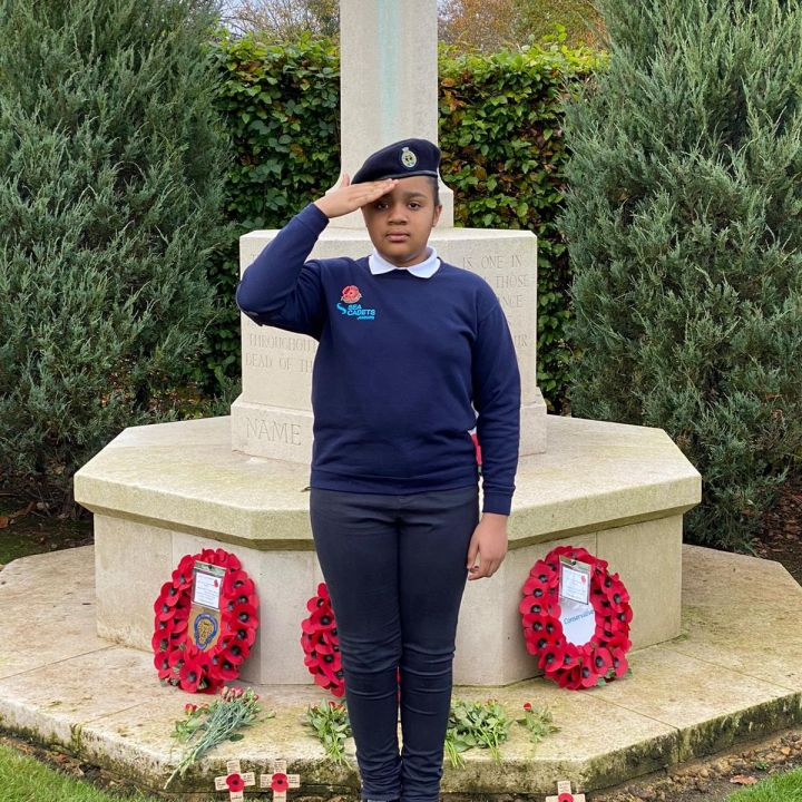 Sea Cadets Remembrance Day