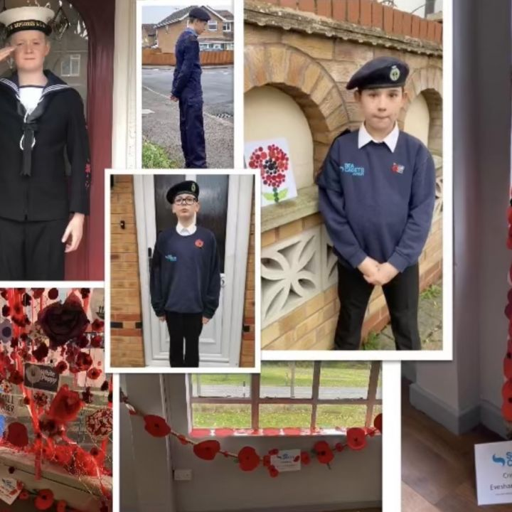 Evesham Sea Cadets Remember