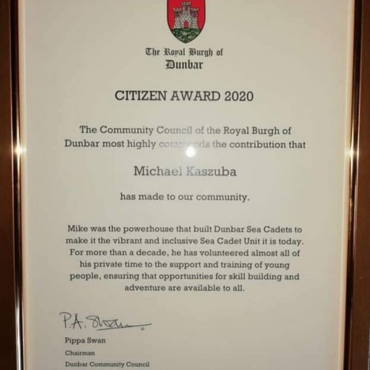 Volunteer recognised for community work