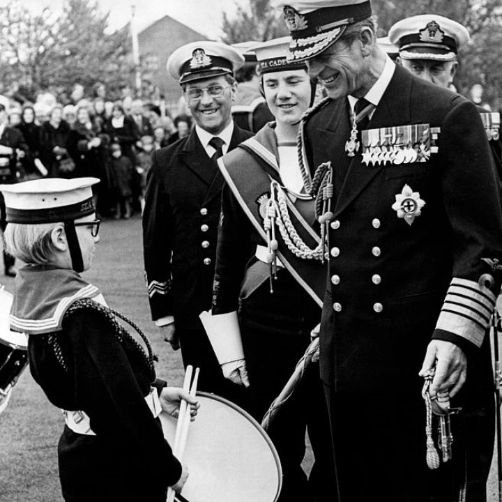 SEA CADETS MOURNS HRH THE DUKE OF EDINBURGH