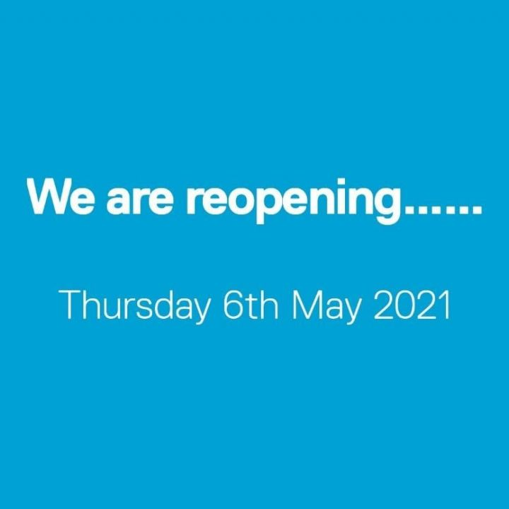 We are reopening!