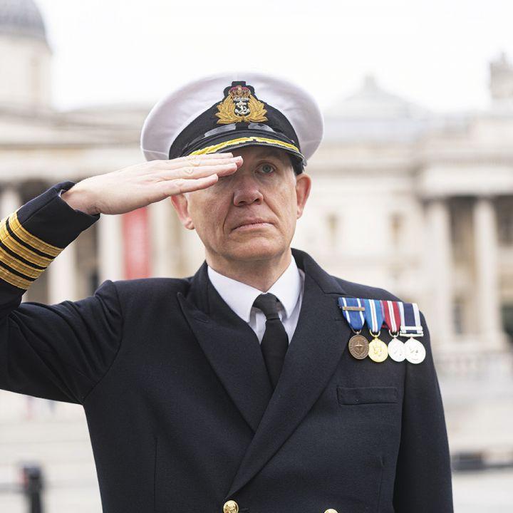 Captain SCC Trafalgar Square