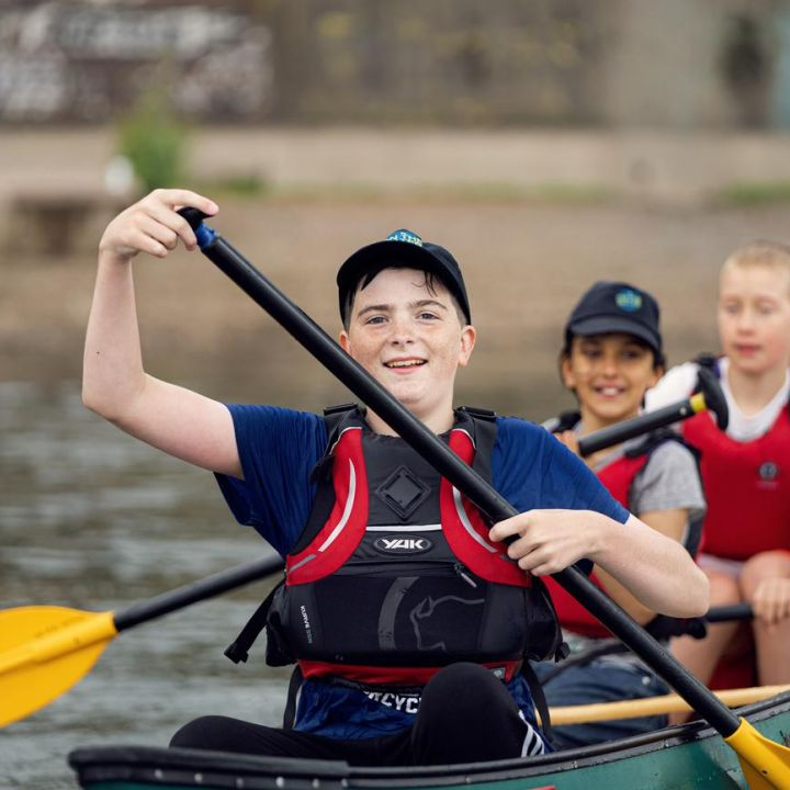 On the water programme success sea cadets