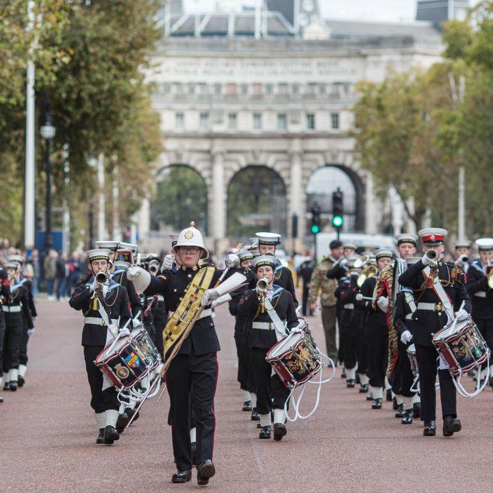 Sea Cadets Trafalgar Day 2021