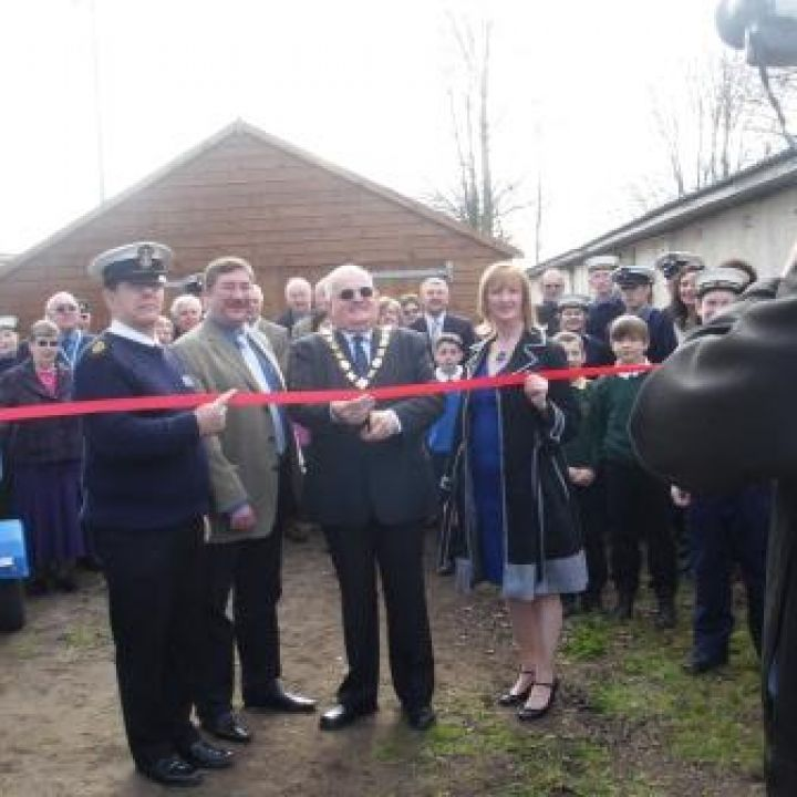 Grand Opening of the New Boat Shed
